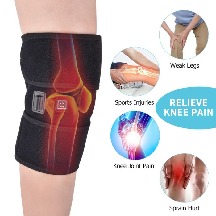 Knee Heating Pad Wrap Around Brace