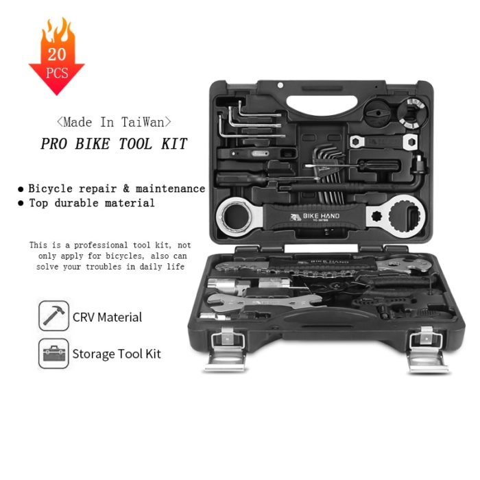 Bike Tool Kit 20PC Repair Set