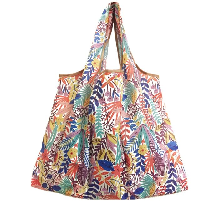 Reusable Grocery Bag Foldable Tote Bag