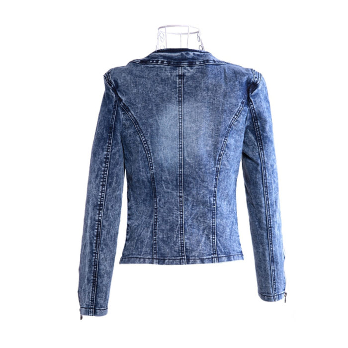 Denim Jacket Ladies Fashionable Top