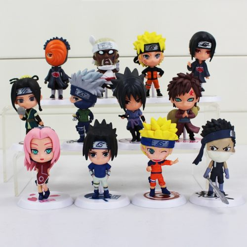 Anime Action Figure Naruto Cute Toys