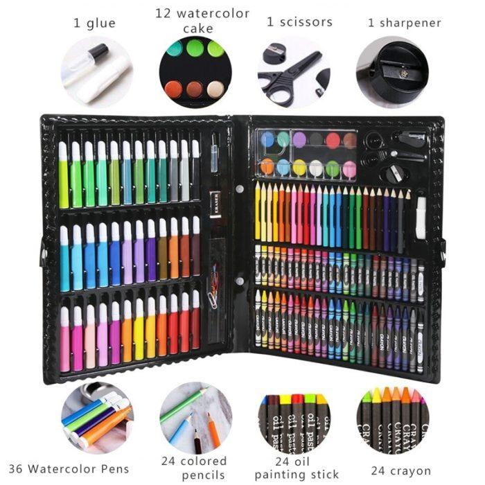Art Set For Kids Coloring Materials 150/176 Pcs