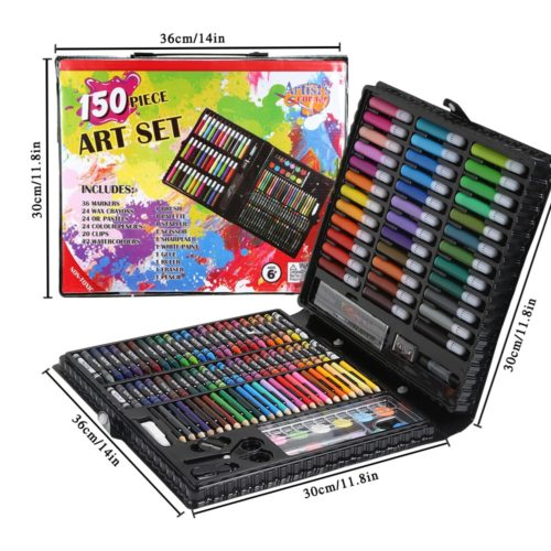 Art Set For Kids Coloring Materials 150/176 Pcs