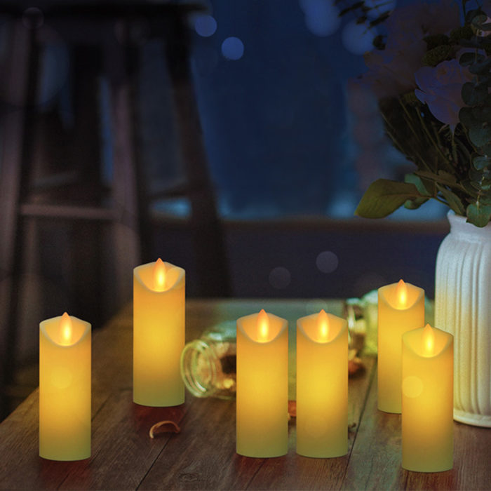 Battery Operated Candle Flame-less Candle