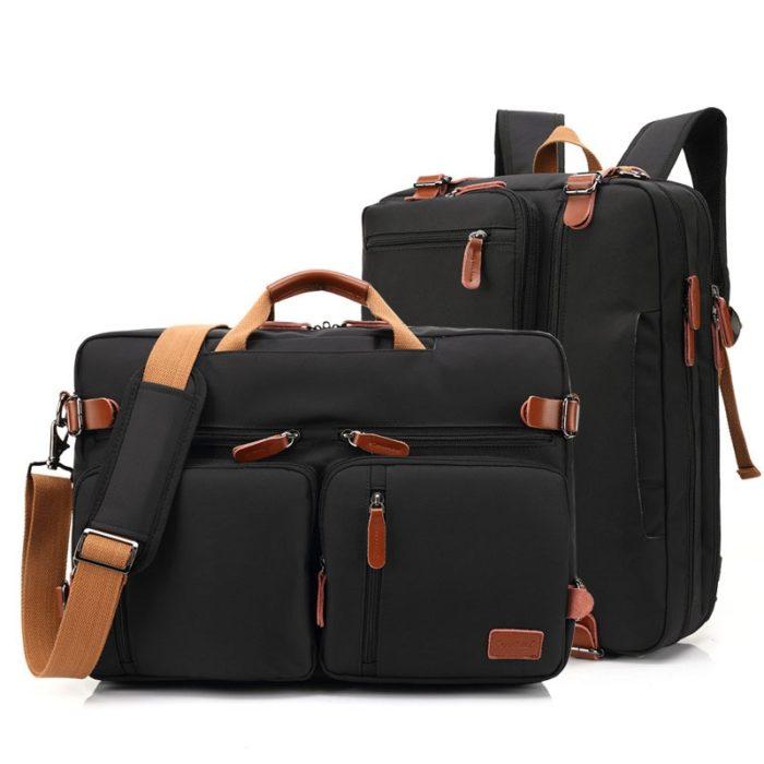 Laptop Messenger Bag Convertible Big Bag