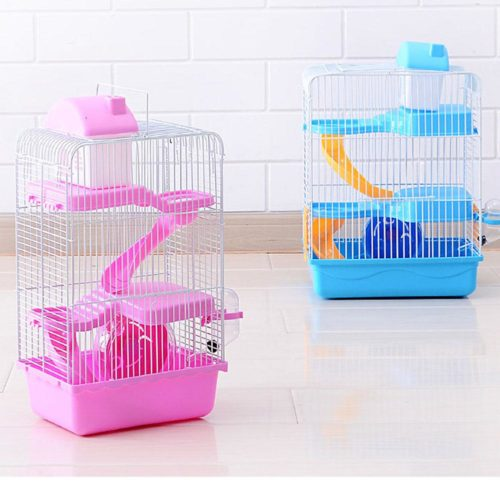 Hamster Cage 3 Storey Pet House