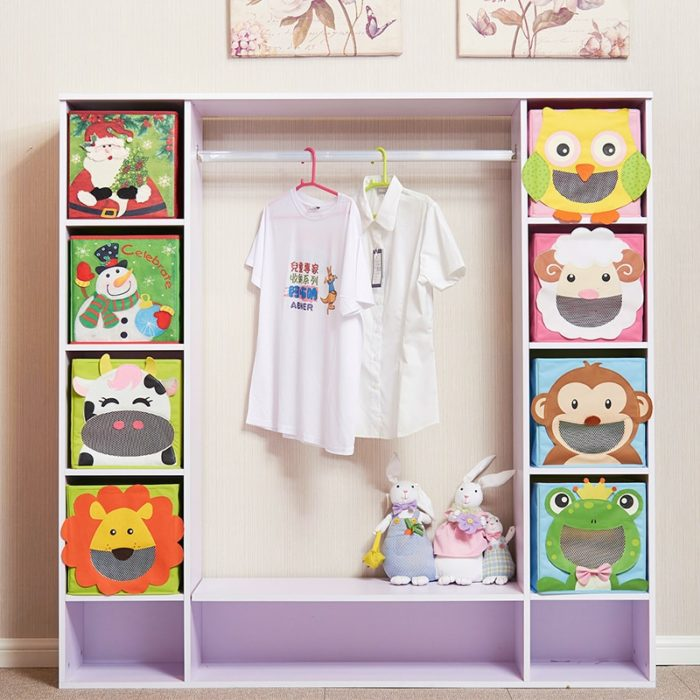 Toy Storage Organizer 3D Cartoon Design