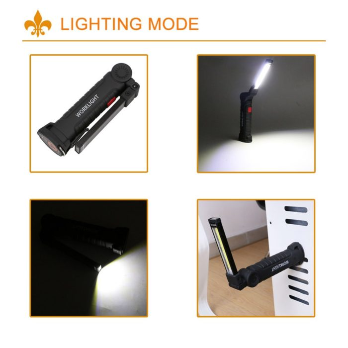 Rechargeable Led Flashlight Handheld Device