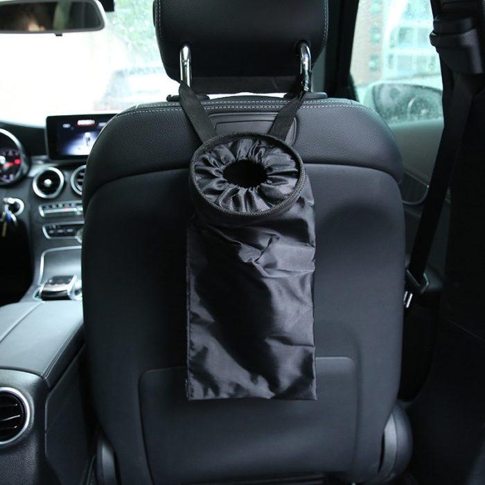 Car Trash Bag Portable Trash Bin