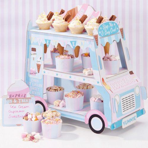 Cupcake Holder Three-Tier Stand
