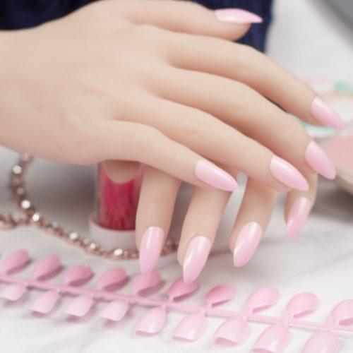 Fake Acrylic Nails DIY Artificial Nails
