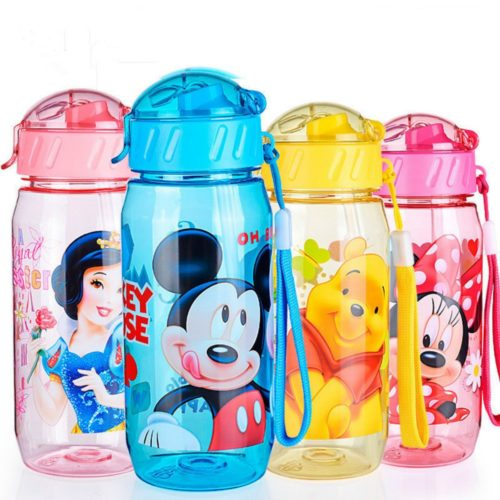 Kids Water Bottle Cartoon Design