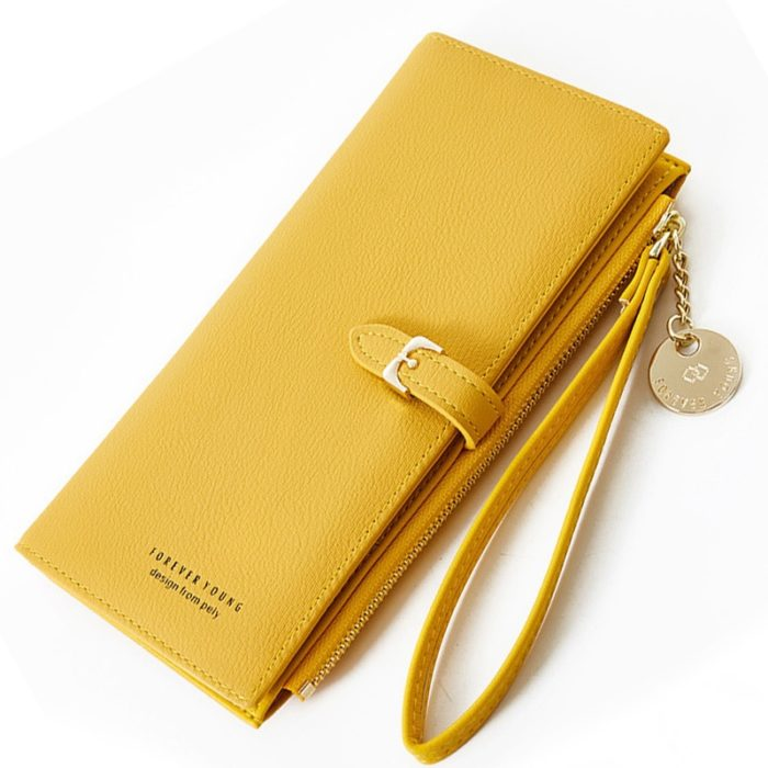Leather Wallet For Women Thin Purse