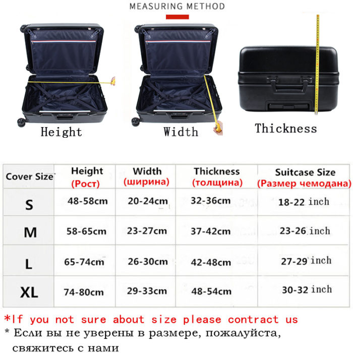 Suitcase Cover Luggage Protection