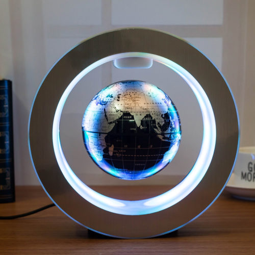 Floating Globe LED Magnetic Levitation