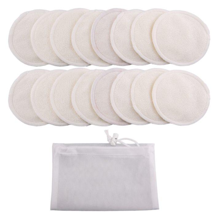 Reusable Cotton Pads Set (16 Pieces)