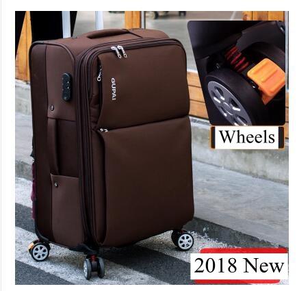 Travel Luggage Wheeled Suitcase