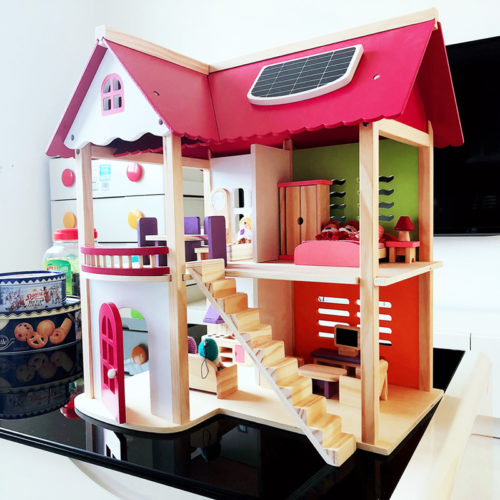 Doll House For Girls Wooden Villa