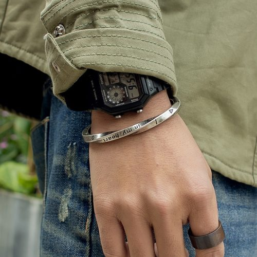 Stainless Steel Bracelet Men's Fashion