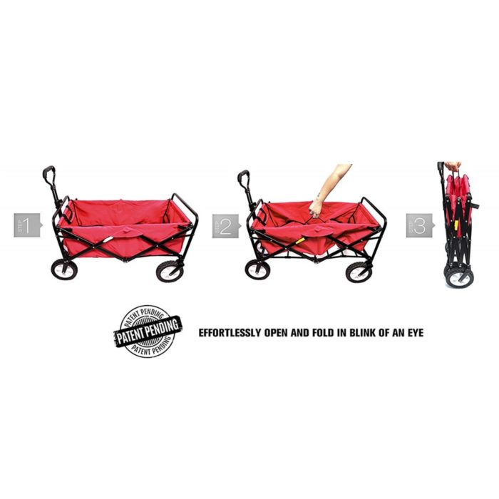 Folding Wagon Outdoor Utility Trolley