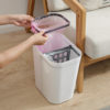 Kitchen Trash Can Dry Wet Separation