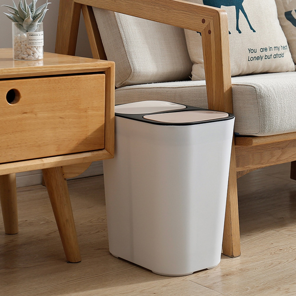 Kitchen Trash Can / Dry Wet Separation