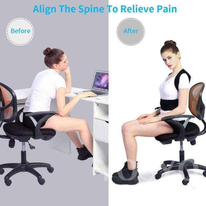 Back Posture Corrector Brace