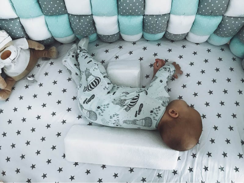 Newborn Pillow Triangular 0 6 Months