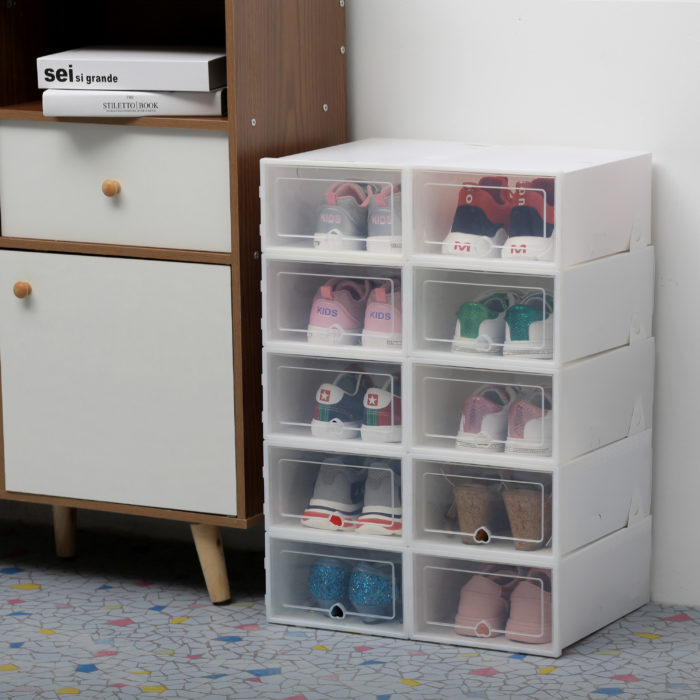 Stackable Drawers Transparent Box Case