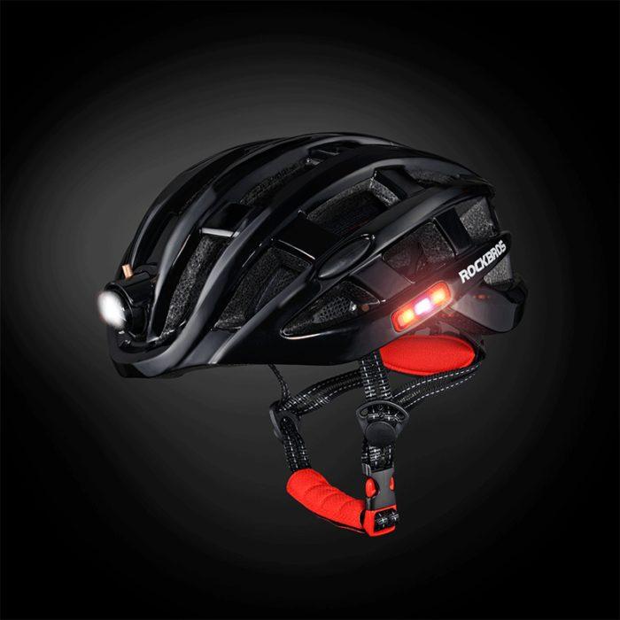 Bike Helmet with LED Lights