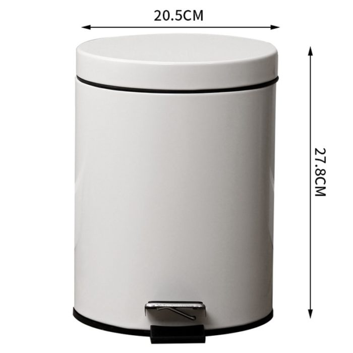Pedal Bin Stainless Steel Garbage Can