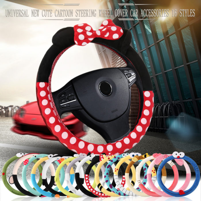 Cute Steering Wheel Covers Cartoon Characters