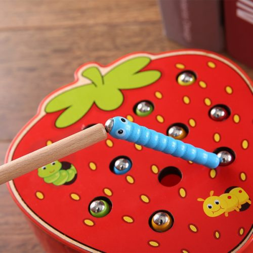 Kids Learning Toys Wooden Fruits