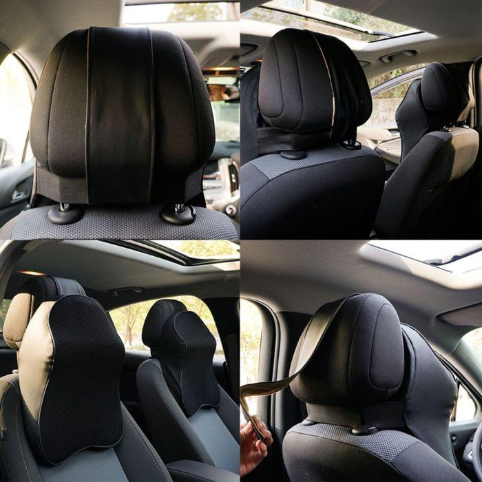 Car Headrest Memory Foam Pillow