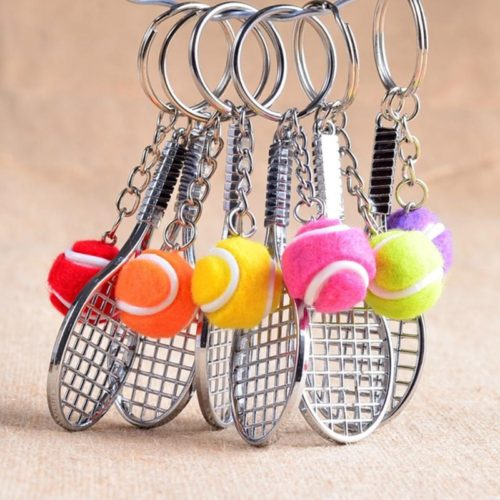 Cool Keyrings Mini Tennis Keychains