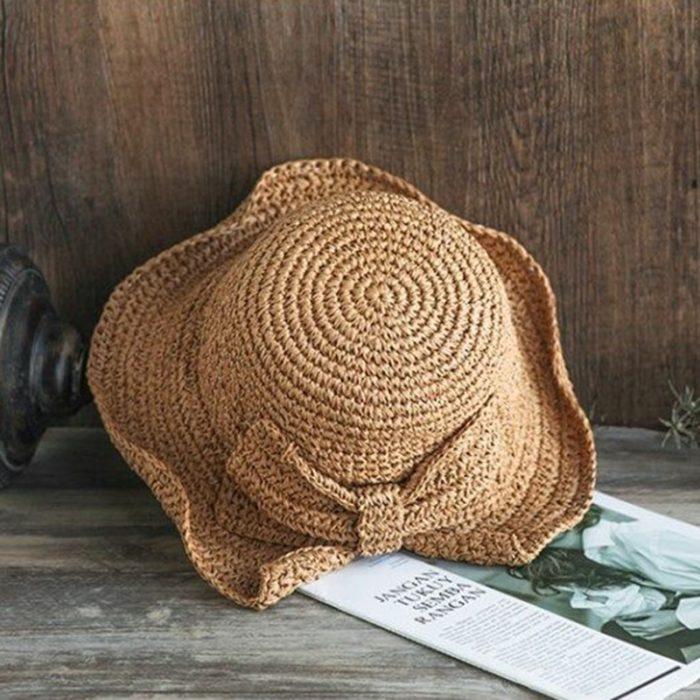 Floppy Sun Hat Big Brim Panama