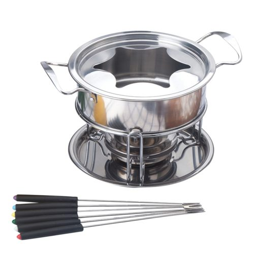 Fondue Set 10PC Stainless Steel Set