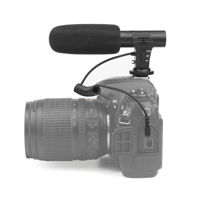 Camera Microphone Audio Vlog Mic