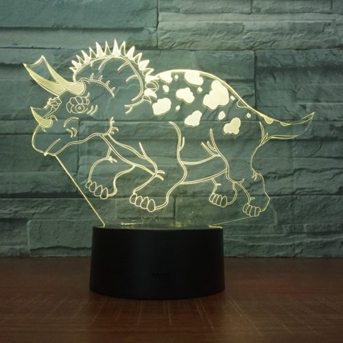 3D Light Dinosaur Design
