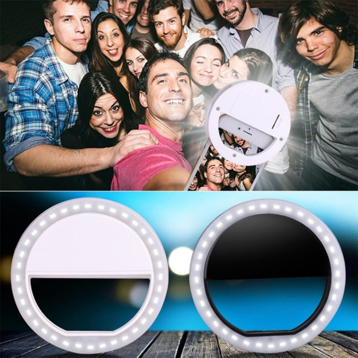 Selfie Ring Portable Mobile Lamp