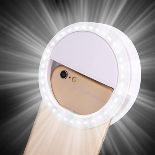 Selfie Ring Portable Mobile Lamp