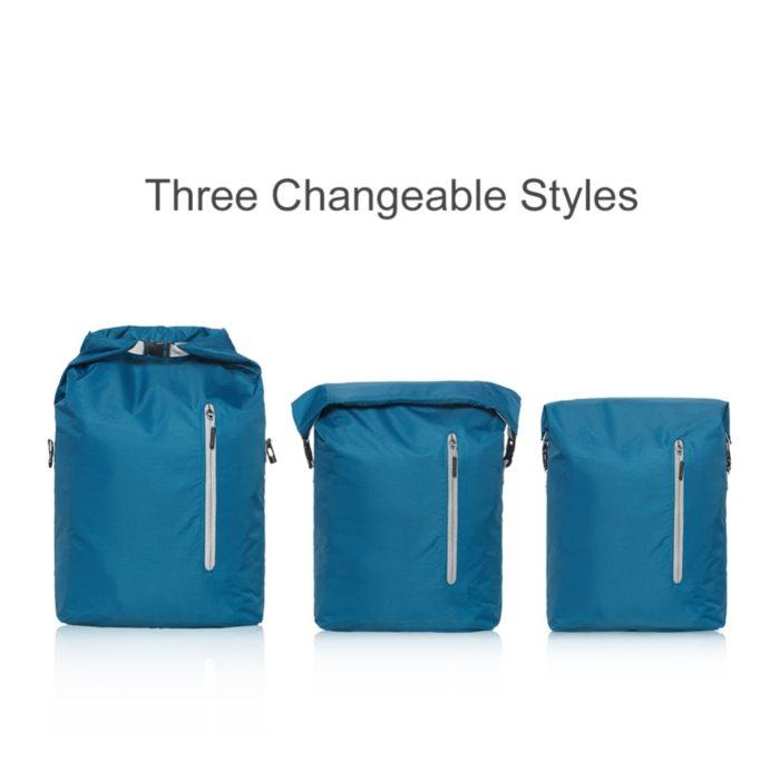 Water Resistant Backpack Foldable Travel Bag