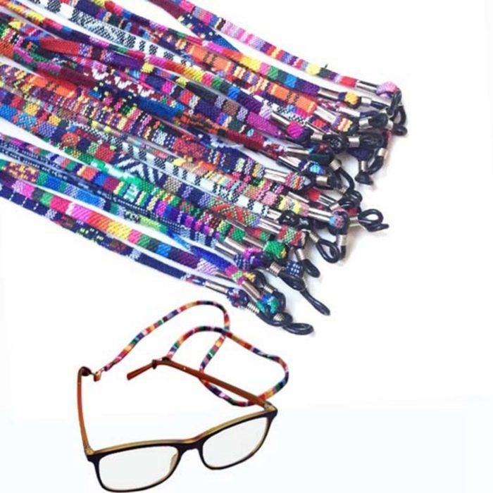 Glasses Strap Retro Print Glasses Cord