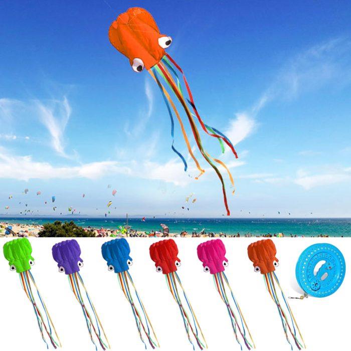 Octopus Kite Kids Outdoor Toy