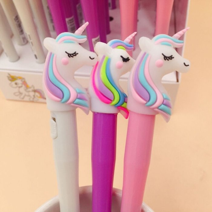 Unicorn Pen Glitter Light Gel Pen