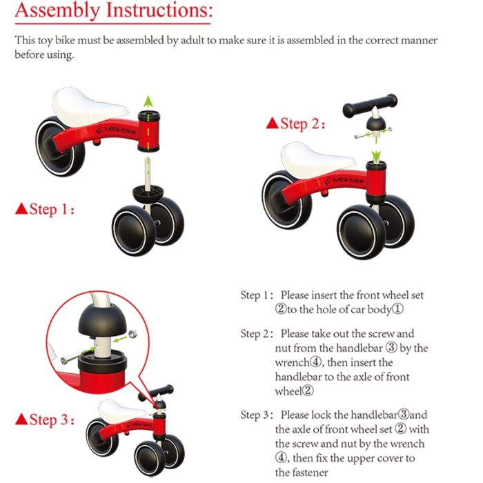 Kids Ride On Toy Baby Mini Trike - Life Changing Products