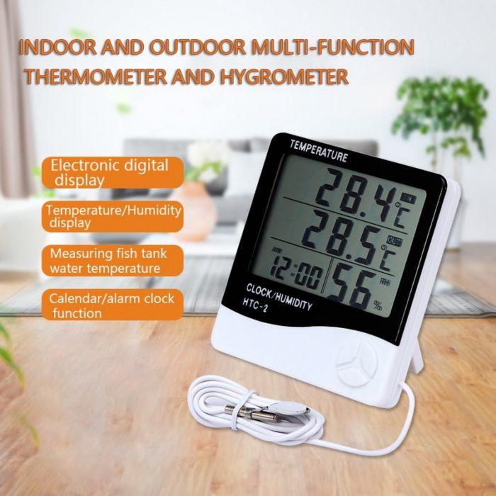 Thermohygrometer Digital Meter