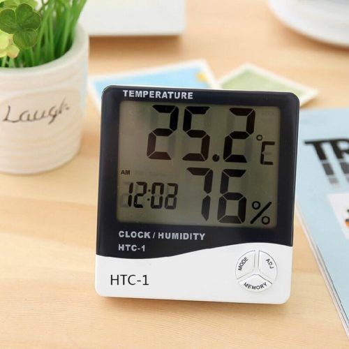 Thermohygrometer Digital Meter