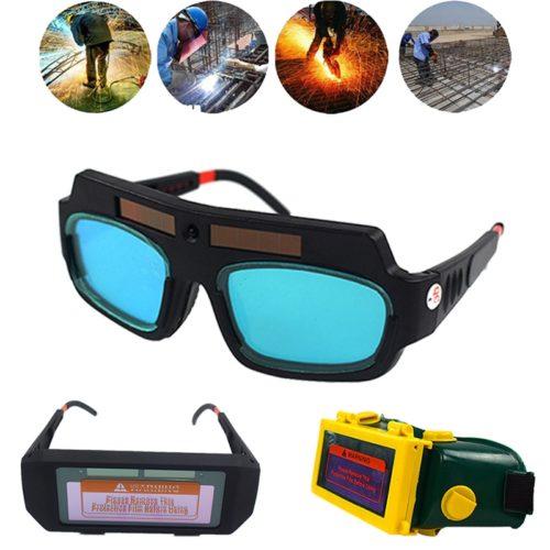 Welding Goggles Solar Power Auto Dim
