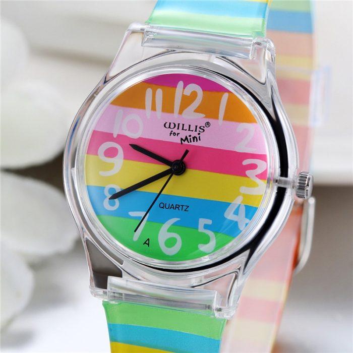 Rainbow Watch Silicone Band